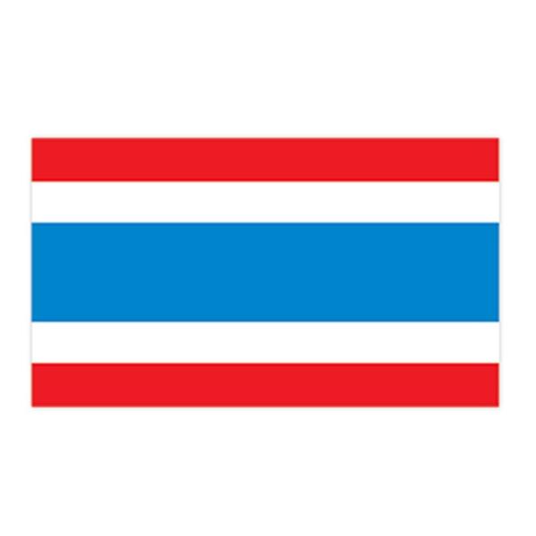 Thailand Flag Temporary Tattoo - Thailand Flag Temporary Tattoo