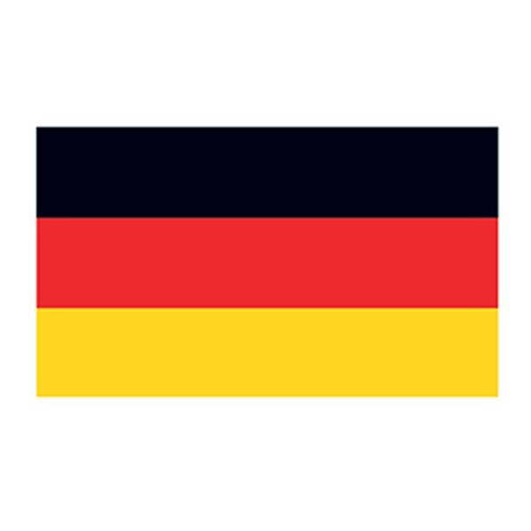Germany Flag Temporary Tattoo - Germany Flag Temporary Tattoo