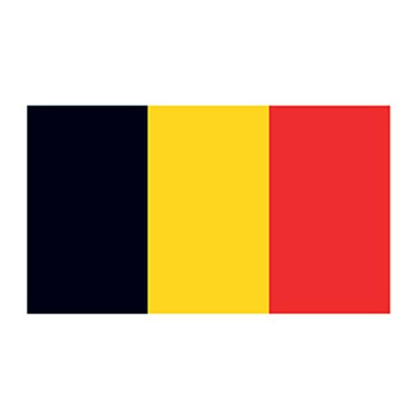 Belgium Flag Temporary Tattoo - Belgium Flag Temporary Tattoo