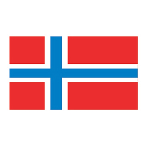 Norway Flag Temporary Tattoo - Norway Flag Temporary Tattoo