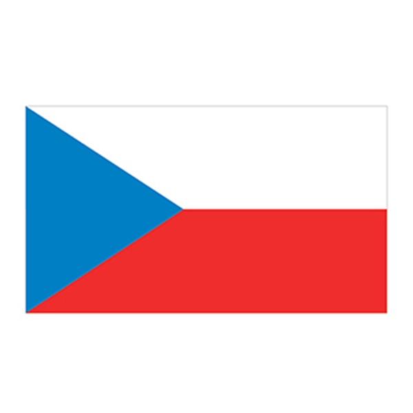 Czech Republic Flag Temporary Tattoo - Czech Republic Flag Temporary Tattoo