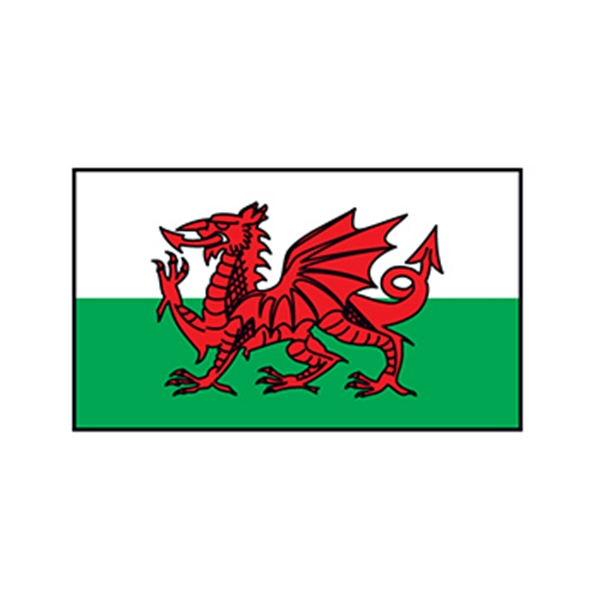 Wales Flag Temporary Tattoo - Wales Flag Temporary Tattoo