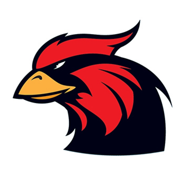 Cardinal Mascot Temporary Tattoo - Cardinal Mascot Temporary Tattoo