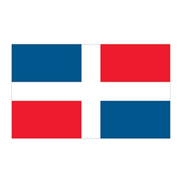 Dominican Republic Flag Temporary Tattoo - Dominican Republic Flag Temporary Tattoo