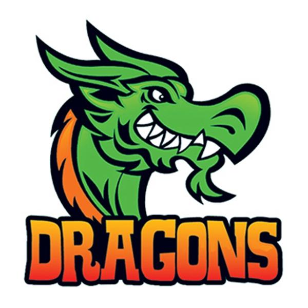 Dragons Temporary Tattoo
