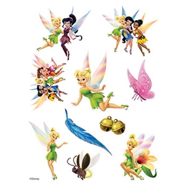 Tinker Bell Assortment of Temporary Tattoos - Tinker Bell Assortment of Temporary Tattoos