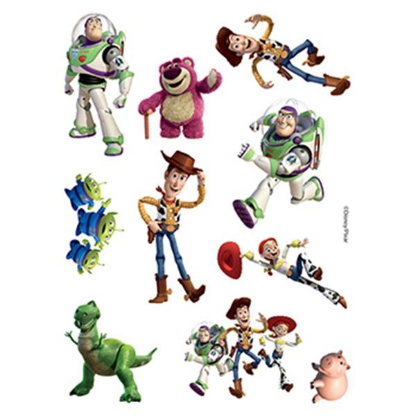 Toy Story Assortment of Temporary Tattoos - Toy Story Assortment of Temporary Tattoos