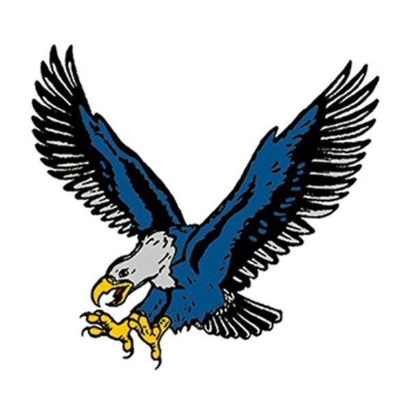 Blue Eagle Temporary Tattoo - Blue Eagle Temporary Tattoo
