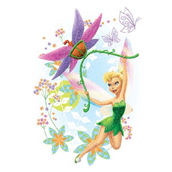 Glitter Disney Tinkerbell Temporary Tattoo - Glitter Disney Tinkerbell Temporary Tattoo