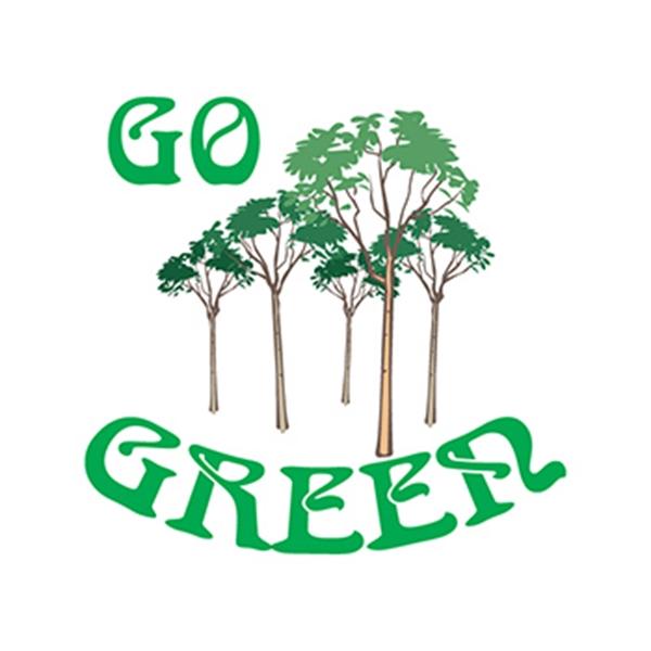 Go Green Trees Temporary Tattoo - Go Green Trees Temporary Tattoo