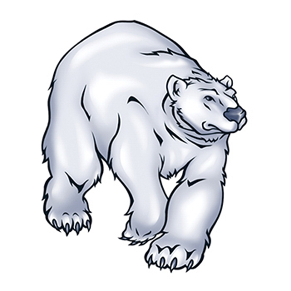 Polar Bear Temporary Tattoo - Polar Bear Temporary Tattoo