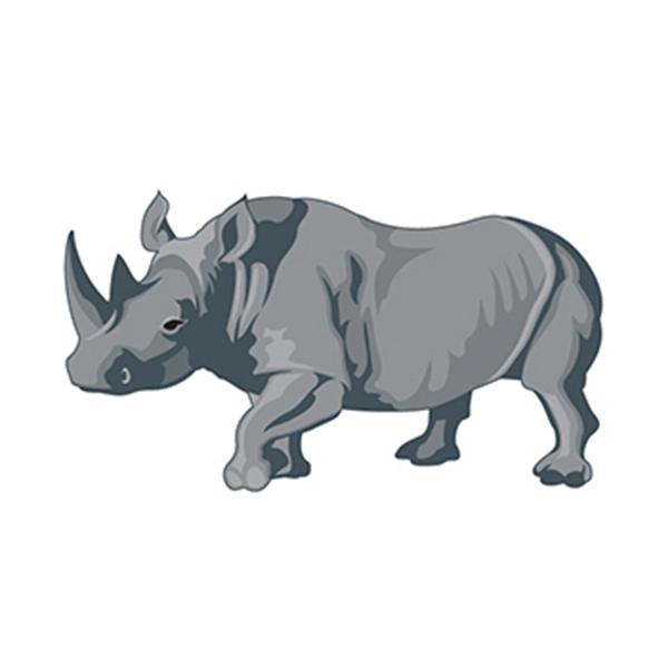 Rhino Temporary Tattoo