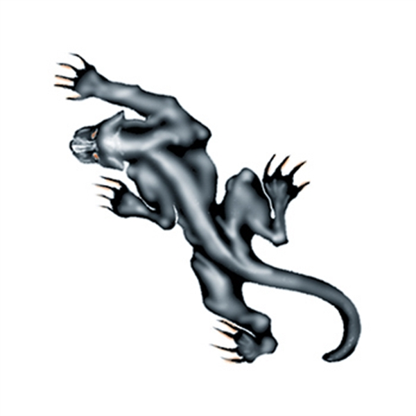 Prowling Panther Temporary Tattoo - Prowling Panther Temporary Tattoo