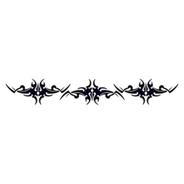 Scythe Tribal Armband Temporary Tattoo - Scythe Tribal Armband Temporary Tattoo