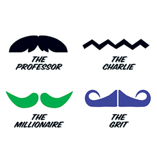 Fingerstaches: The Professor Temporary Tattoo Set - Fingerstaches: The Professor Temporary Tattoo Set