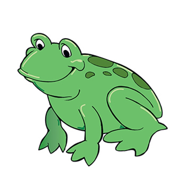 Green Frog Temporary Tattoo - Green Frog Temporary Tattoo