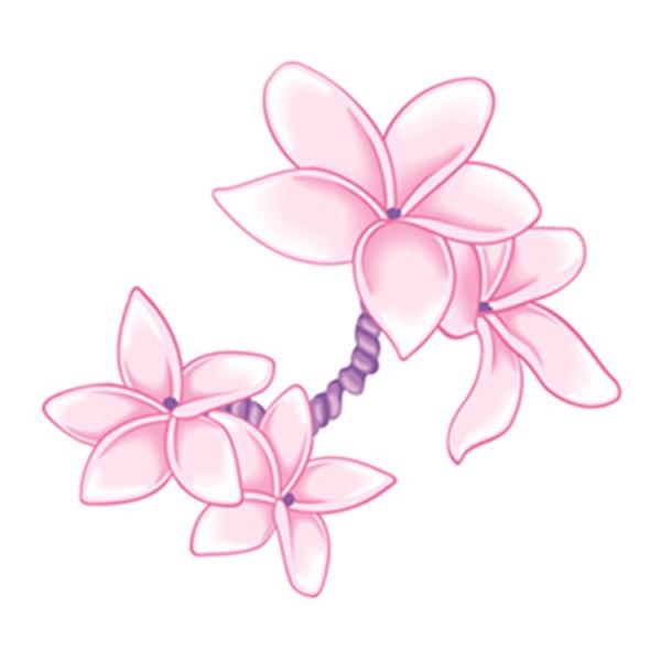 Cherry Blossom Temporary Tattoo - Cherry Blossom Temporary Tattoo