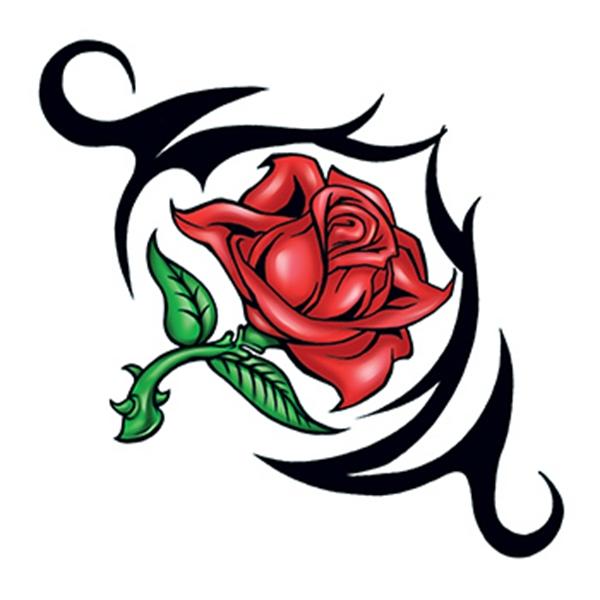 Rose Thorn Temporary Tattoo - Rose Thorn Temporary Tattoo