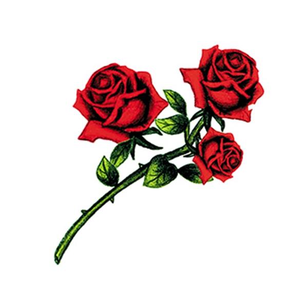 Rose Buds Temporary Tattoo - Rose Buds Temporary Tattoo