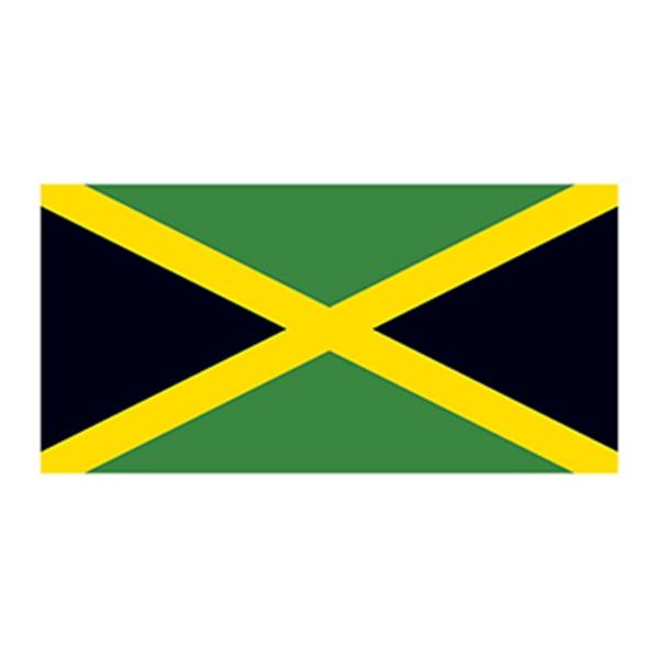 Flag of Jamaica Temporary Tattoo - Flag of Jamaica Temporary Tattoo