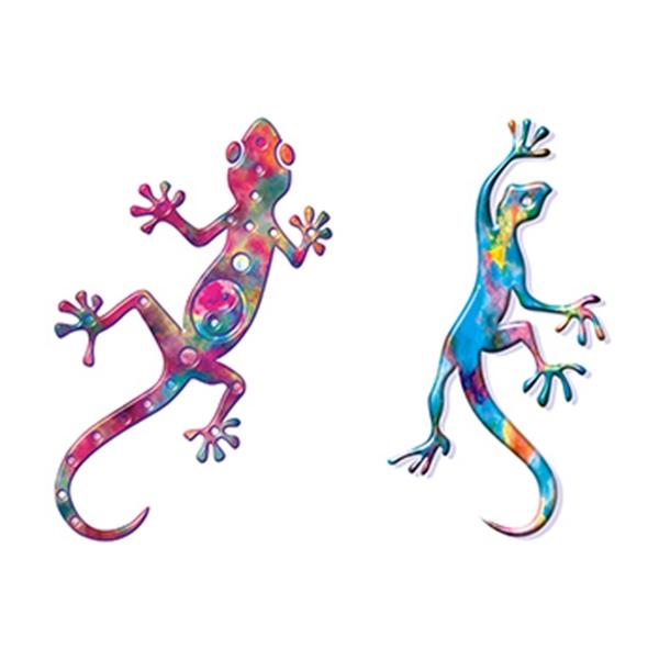 Two Geckos Temporary Tattoos - Two Geckos Temporary Tattoos