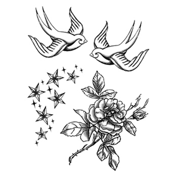 Fashion: Dream World Temporary Tattoo - Fashion: Dream World Temporary Tattoo