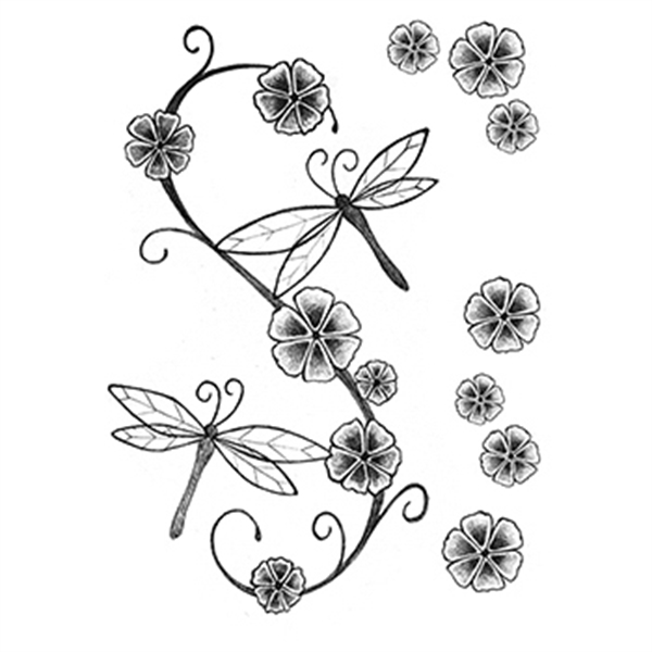 Fashion: Soft and Delicate Temporary Tattoo Set - Fashion: Soft and Delicate Temporary Tattoo Set