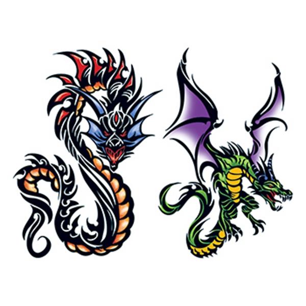 Ethelinda Dragons Temporary Tattoo Set - Ethelinda Dragons Temporary Tattoo Set