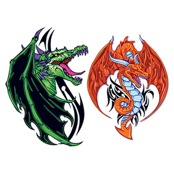 Vasuki Dragons Temporary Tattoo Set - Vasuki Dragons Temporary Tattoo Set