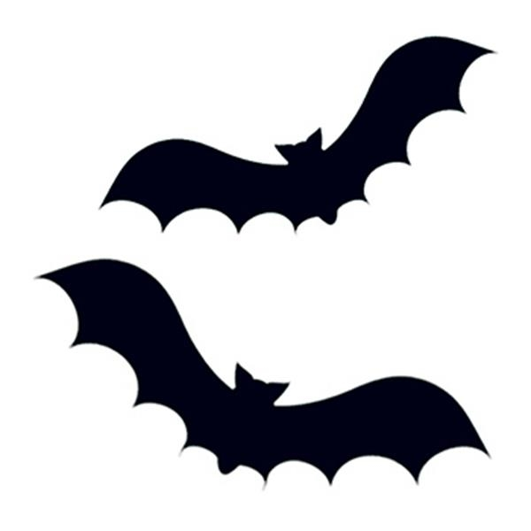 Two Bats Temporary Tattoo - Two Bats Temporary Tattoo