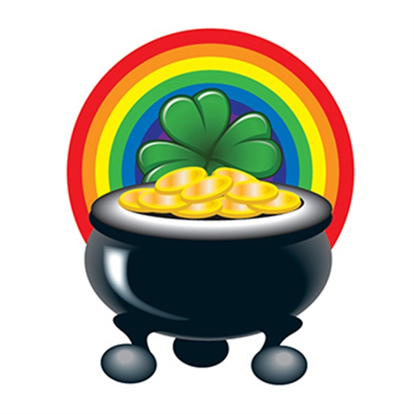 Pot of Gold Temporary Tattoo