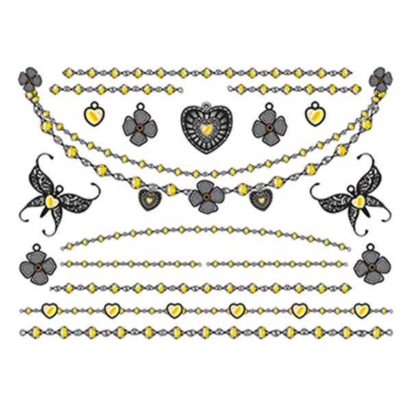 Dazzling Temporary Tattoo Jewelry Set - Dazzling Temporary Tattoo Jewelry Set