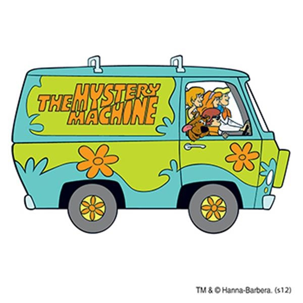Warner Brothers: Scooby in the Van Temporary Tattoo - Warner Brothers: Scooby in the Van Temporary Tattoo