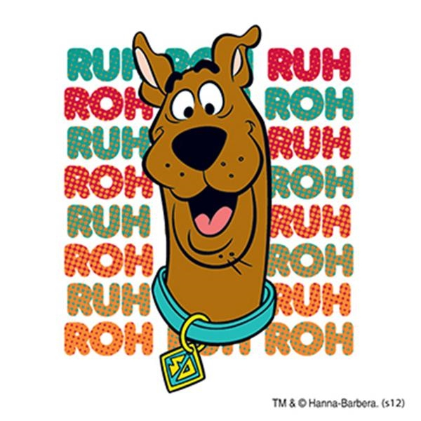 Warner Brothers: Scooby Ruh Roh Temporary Tattoo - Warner Brothers: Scooby Ruh Roh Temporary Tattoo