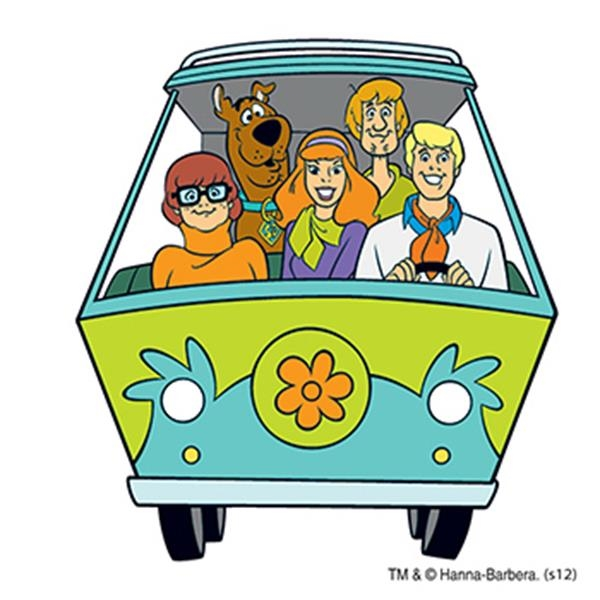 Warner Brothers: Scooby's Gang Temporary Tattoo - Warner Brothers: Scooby's Gang Temporary Tattoo
