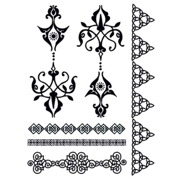 Henna: Aspirational Temporary Tattoo Set - Henna: Aspirational Temporary Tattoo Set
