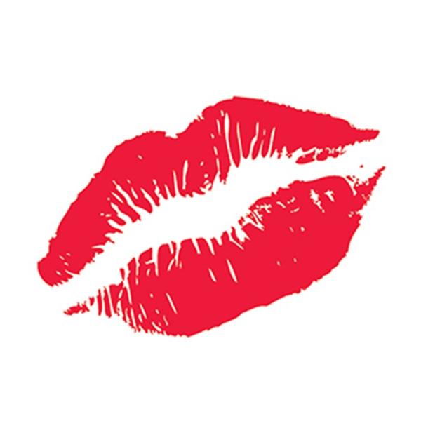 Kiss Lips Temporary Tattoo - Kiss Lips Temporary Tattoo
