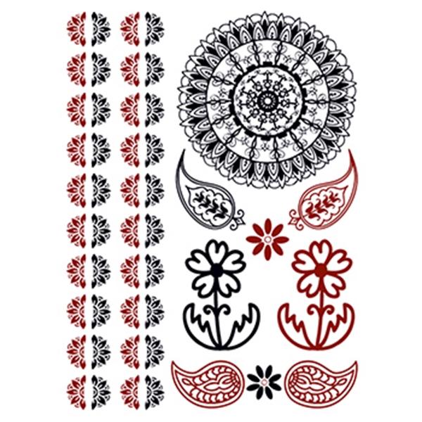 Henna: Sunlight Temporary Tattoo Set - Henna: Sunlight Temporary Tattoo Set