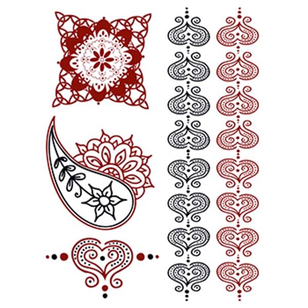 Henna: Romance Temporary Tattoo Set - Henna: Romance Temporary Tattoo Set
