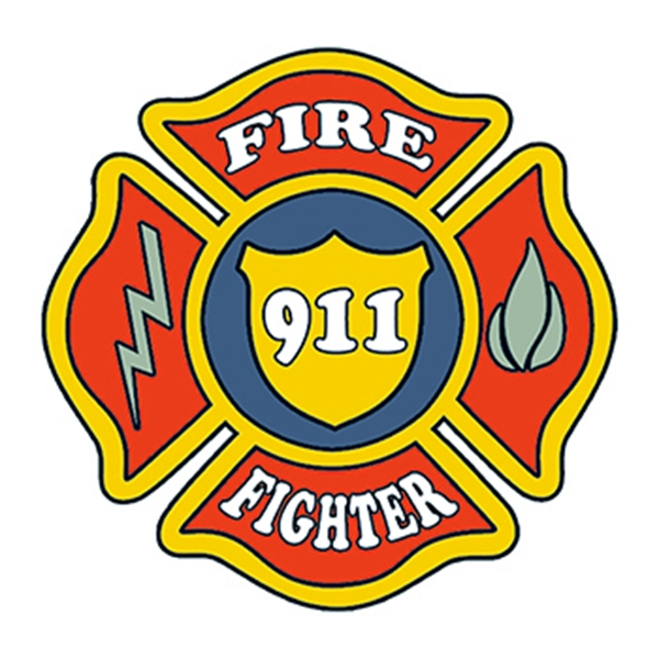 Firefighter Patch Temporary Tattoo - Firefighter Patch Temporary Tattoo