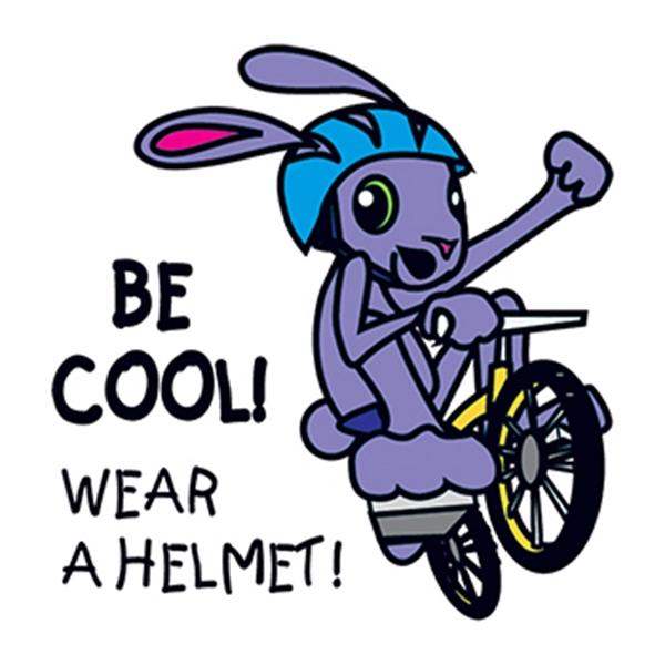 Wear A Helmet Temporary Tattoo - Wear A Helmet Temporary Tattoo