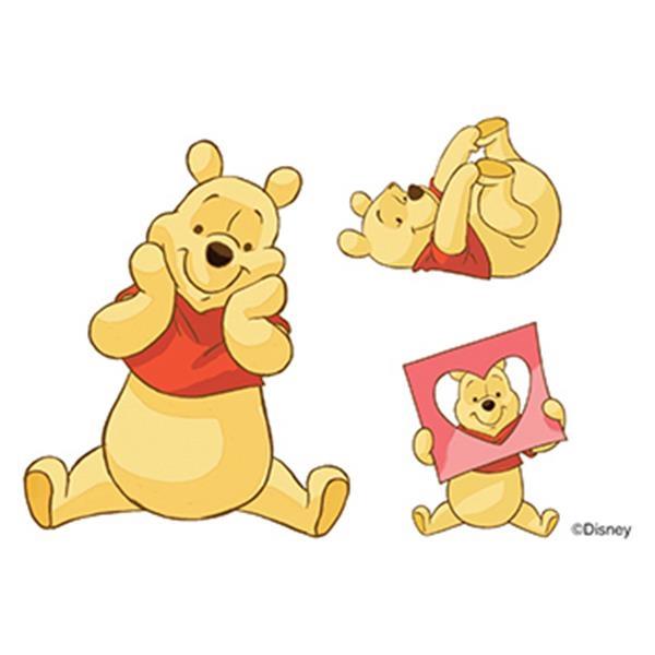 Winnie the Pooh Temporary Tattoos - Winnie the Pooh Temporary Tattoos