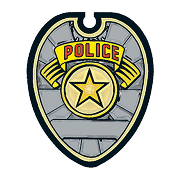 Police Badge Temporary Tattoo - Police Badge Temporary Tattoo