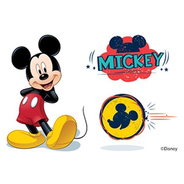 Mickey Mouse Temporary Tattoos - Mickey Mouse Temporary Tattoos