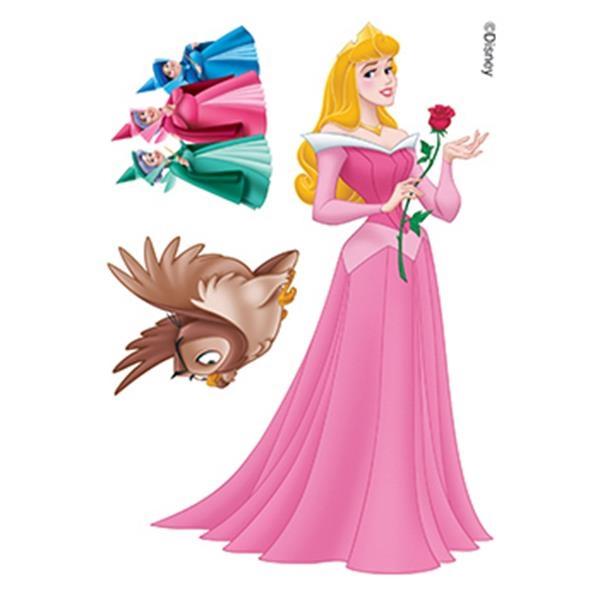 Princess Aurora and Fairy Godmothers Temporary Tattoos - Princess Aurora and Fairy Godmothers Temporary Tattoos