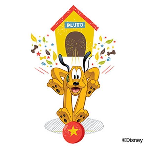 Mickey & Friends: Pluto Temporary Tattoo - Mickey & Friends: Pluto Temporary Tattoo