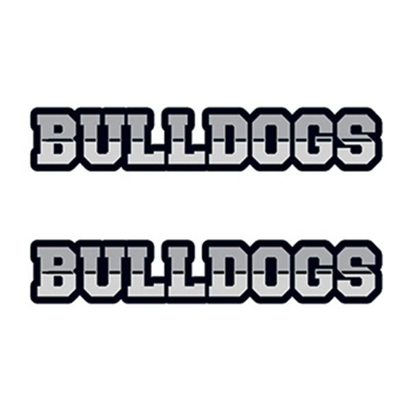 Bulldogs Text Temporary Tattoo - Bulldogs Text Temporary Tattoo
