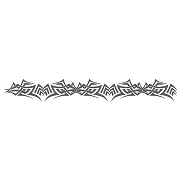 Gray Armband Temporary Tattoo - Gray Armband Temporary Tattoo