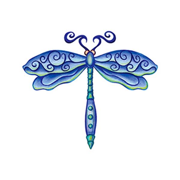 Dragonfly Temporary Tattoo - Dragonfly Temporary Tattoo
