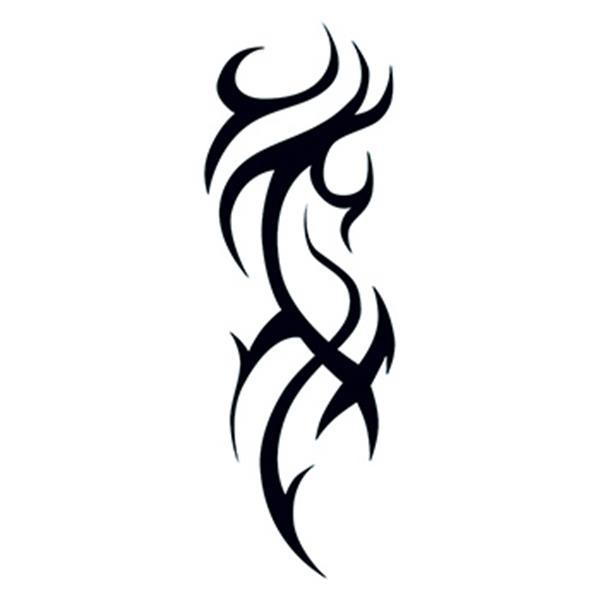 Tribal Pattern Design Temporary Tattoo